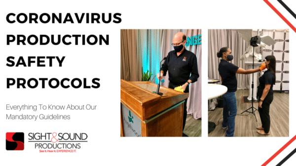 Jacksonville Florida Event Production Safety During Coronavirus - Sight & Sound Productions